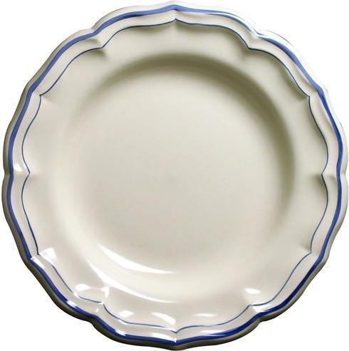 Gien  Filet Bleu Round Deep Dish $95.00