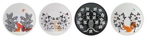 $188.00 Dessert Plates - Set of 4 Assorted