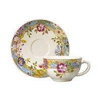 Tea Cups and Saucers, Set of 2