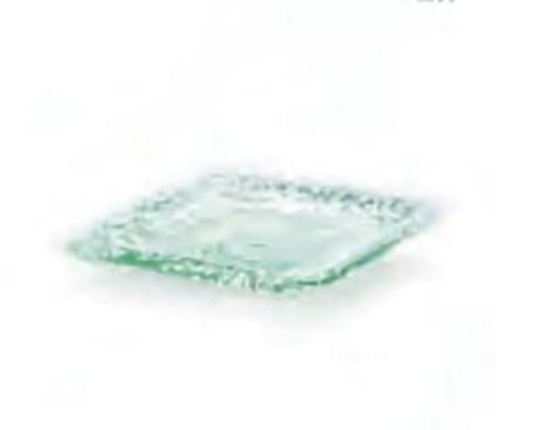 Shiraleah   Small Rustic Glass Square Serving Plate $14.95