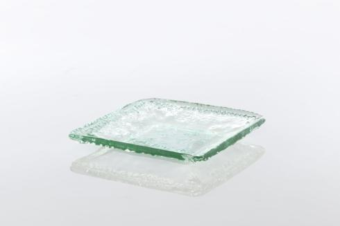 Shiraleah   Large Rustic Square Platter - Clear  $26.95