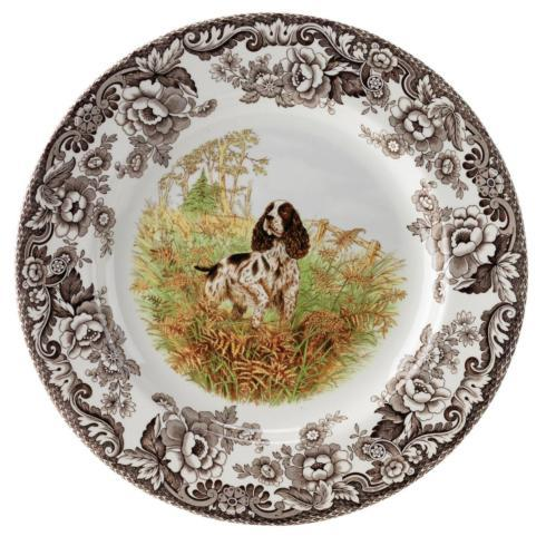 Spode    Woodland Salad Plate 8 Inch (English Springer Spaniel) $32.50