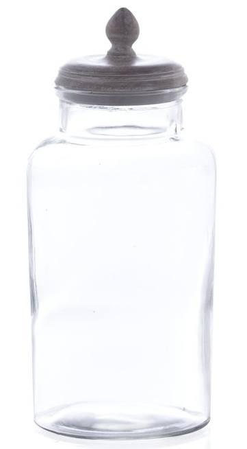 Shiraleah   Rabat Jar, Large, Clear $52.95