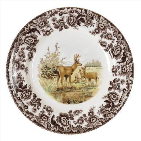 Spode   Spode Woodland Salad Plate 8 Inch (Mule Deer) $29.00