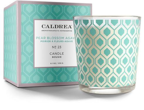 $23.95 Pear Blossom Agave Candle