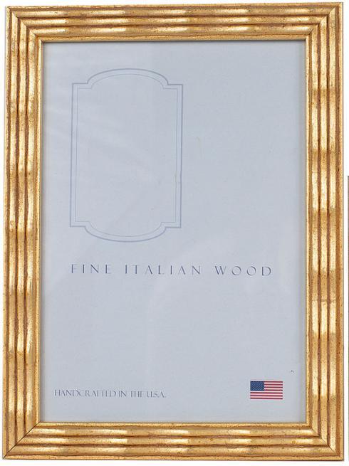 Elizabeth Clair\'s Unique Gifts  Frames 4X6 Gold Ripple Frame $24.95