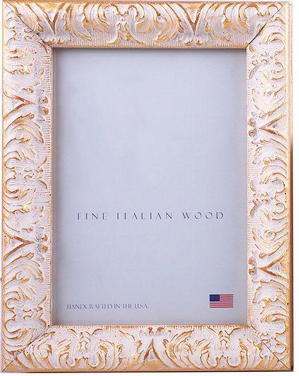 "Elizabeth Clair\'s Unique Gifts  Frames Gold Plume 8"" X 10"" Frame $62.95"