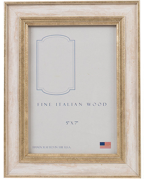 Elizabeth Clair\'s Unique Gifts  Frames 5X7 Ivory Cambridge Frame $41.95