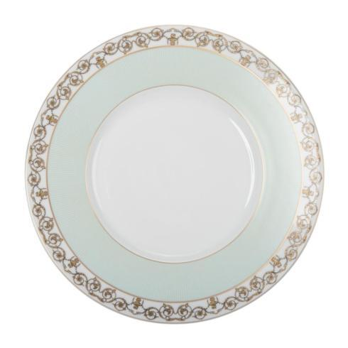 $135.00 Deshoulieres Tuileries mint Dinner plate