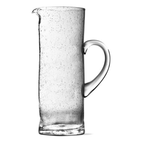Tag   Bubble Glass Tall Pitcher Clear $41.95