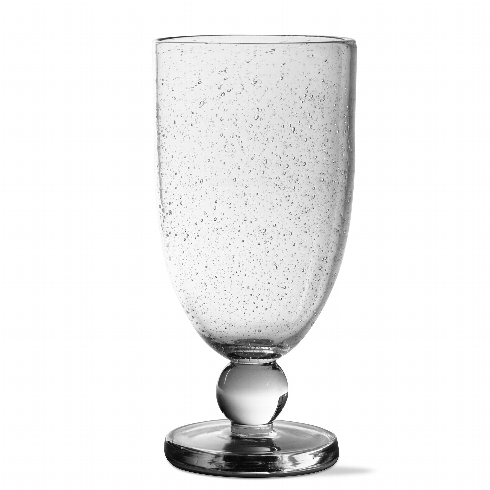 $16.95 Tall Goblet Bubble Glass