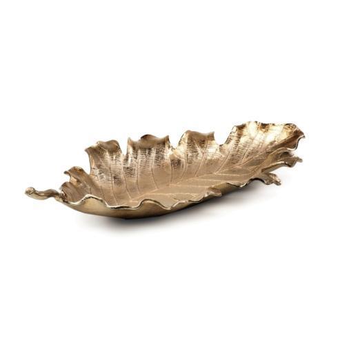 $159.95 Large Gold Leaf Bowl