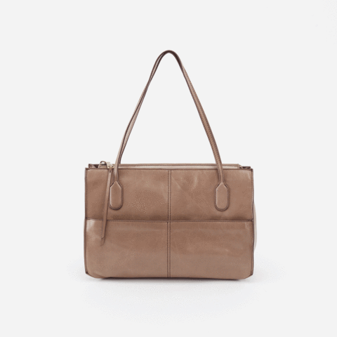 $258.00 FRIAR Shoulder Bag, Color: Cobblestone