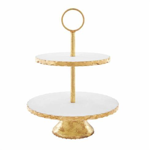 $77.95 TIERED MARBLE SERVER