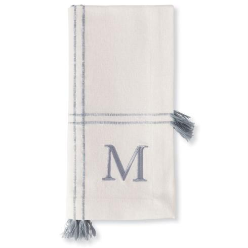Mud Pie   M Initial Napkin Set $18.95