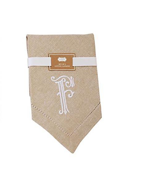 F Initial Napkins collection with 1 products