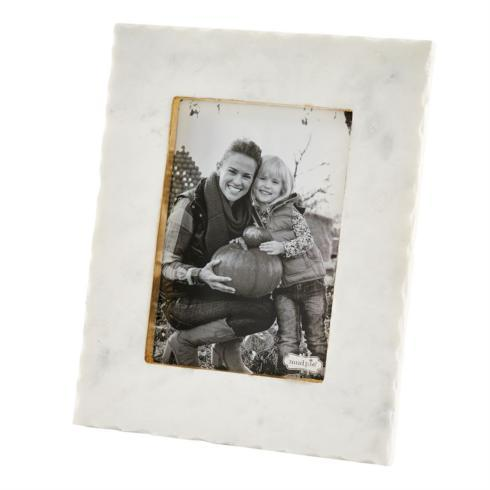 Mud Pie   5X7 CHIPPED MARBLE FRAME $38.95