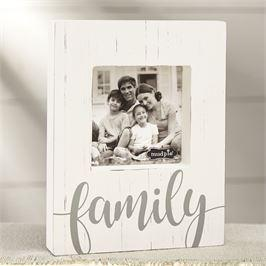 $21.95 FAMILY WOOD BLOCK PICTURE FRAME
