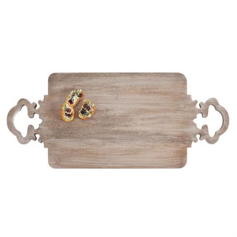 Mud Pie   Quatrefoil Wood Board $38.95