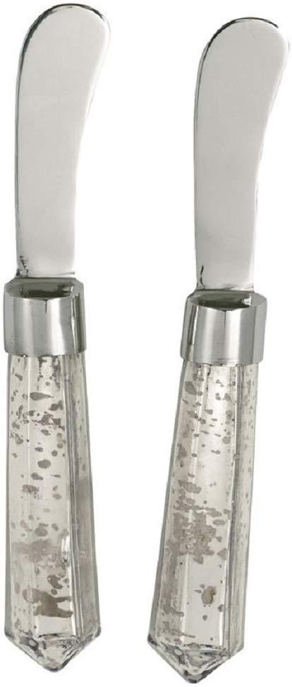 $8.95 Mud Pie Mercury Glass Spreader Set