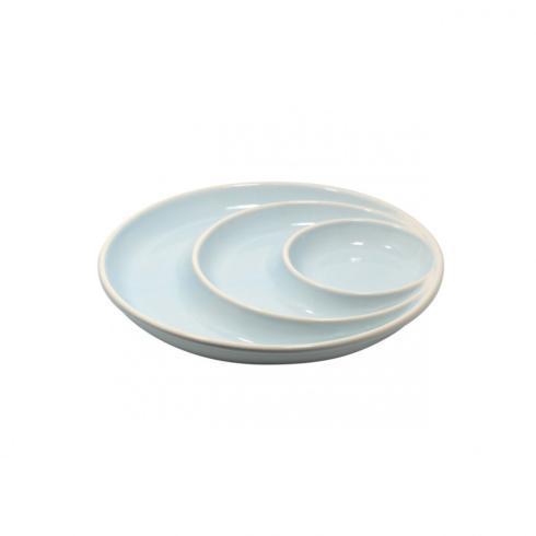 "$34.95 Cafafina - Chip & Dip  12.5"" Round Robins Egg Blue"