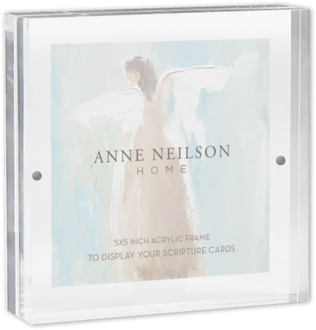 5×5 ACRYLIC SCRIPTURE CARD FRAME collection with 1 products