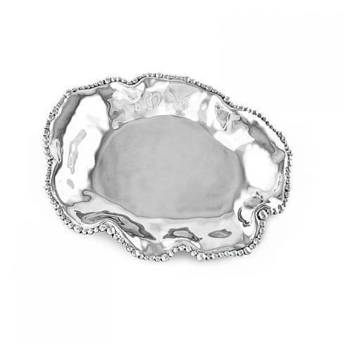 Elizabeth Clair\'s Unique Gifts  Beatriz Ball ORGANIC PEARL Bari Medium Oval Platter - MEDIUM $82.95