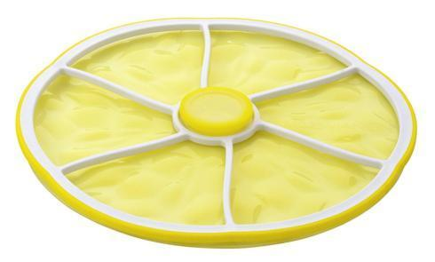 $13.95 Charles Viancin Citrus Stacking Lid - Lemon Medium 9""