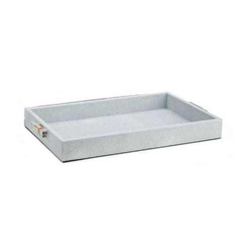 $36.95 Small Tray Misty Shagreen Skin