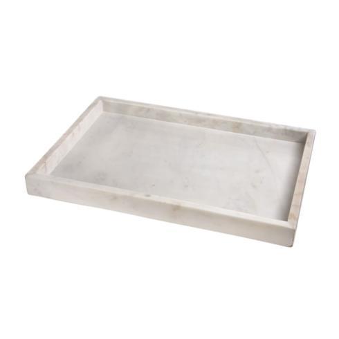 BIDKhome   White Marble Tray $84.95