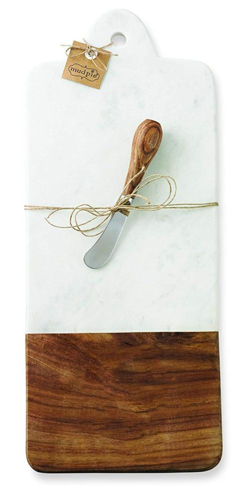 Mud Pie   Marble and Wood Cutting Board $32.95