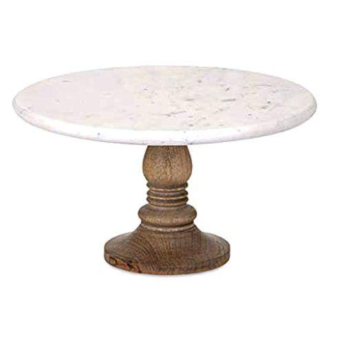 Lissa Marble Round Cake Stand collection with 1 products