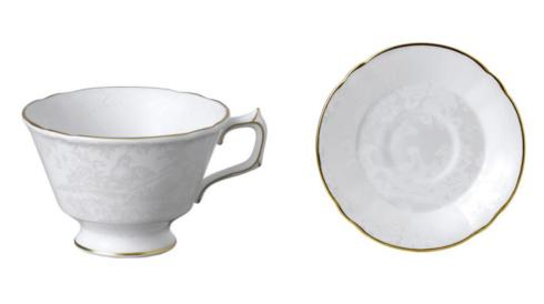 $122.00 Royal Crown Derby - Aves Pearl Cup & Saucer