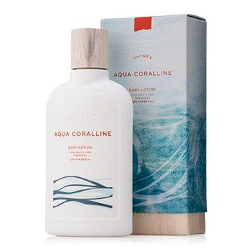 $25.95 AQUA CORALLINE BODY LOTION