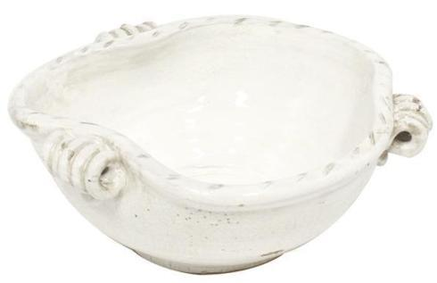 $43.95 White Triple Handle Bowl