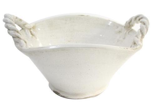 $68.95 White Bowl 2 Twist Handles