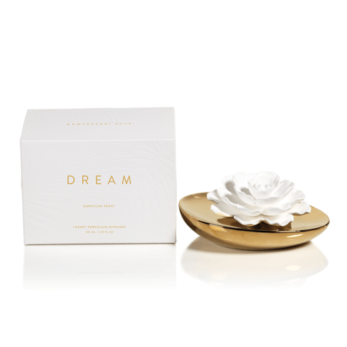 Zodax  Diffusers Dream Porcelain Flower Diffuser (Fragrance Moroccan Peony) $76.95