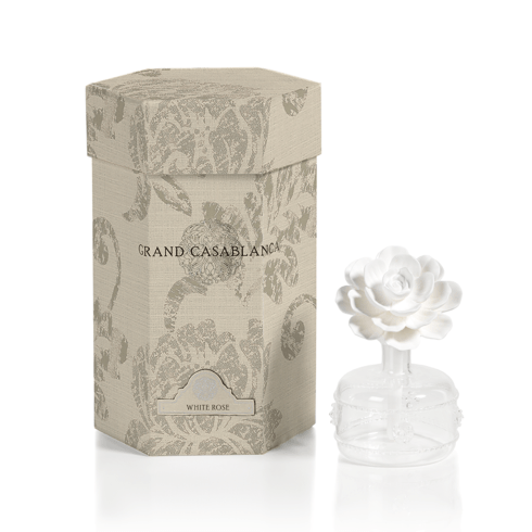 Mini Grand Casablanca Porcelain Diffuser (Fragrance  White Rose) collection with 1 products