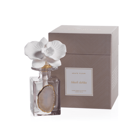 Agate Flower Porcelain Diffuser (fragrance Black Dahila) collection with 1 products