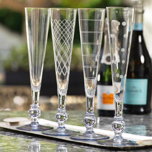 $17.95 Tuileries Champagne Flut