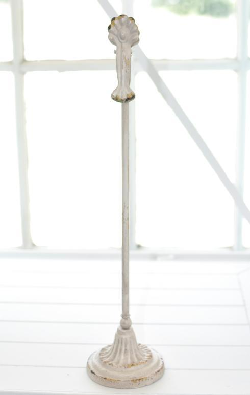 $14.95 Cream Metal Clip on Stand