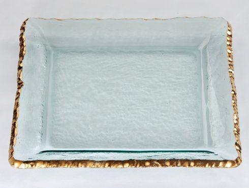 "$329.95 EDGEY 15.5"" Large Square Platter"