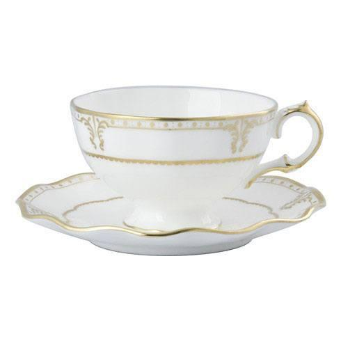 $230.00 Royal Crown Derby - Elizabeth Gold Cup & Saucer