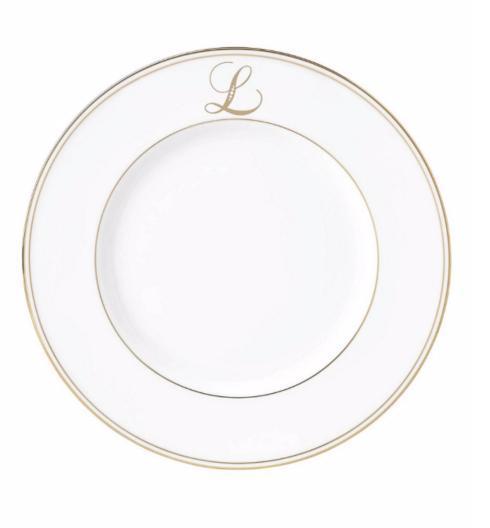 Lenox  Federal Gold™ Monogram Script Dinner Plate $39.95