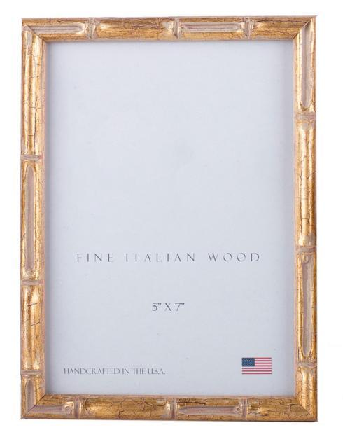 Elizabeth Clair\'s Unique Gifts  Frames Gold Bamboo Frame $31.95