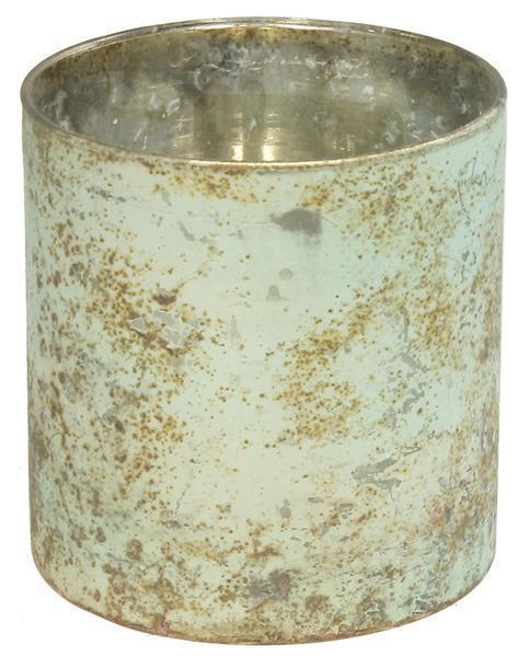 "$12.95 4.25"" H X 4"" DIA GLASS CYLINDER"