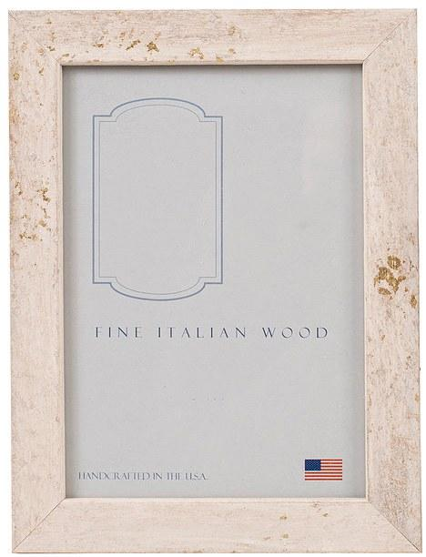 $47.95 Thin White Stone Frame