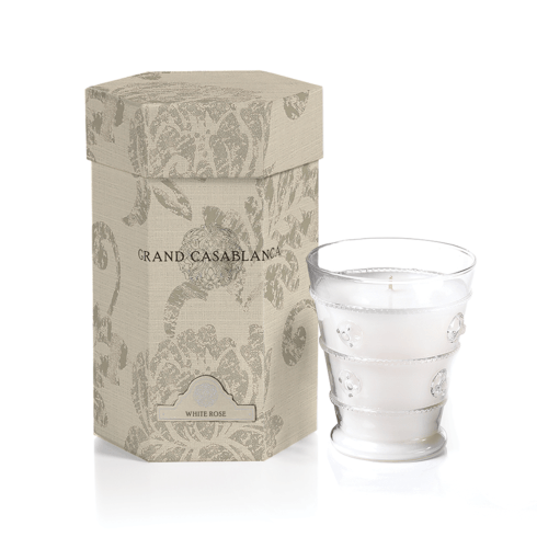 Grand Casablanca Candle Jar (Frangrane White Rose) collection with 1 products