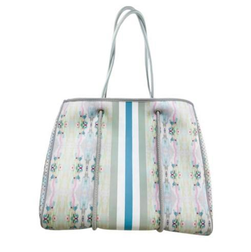 $132.95 VICTORIA (LEMONADE STAND LIGHT BLUE) LARGE TOTE