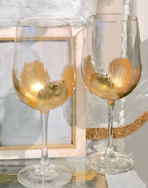 ELM Designs   Gold Leaf Wine All Purpose $27.95